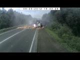 Авария на м5 возле Юрюзани 20.06.2012